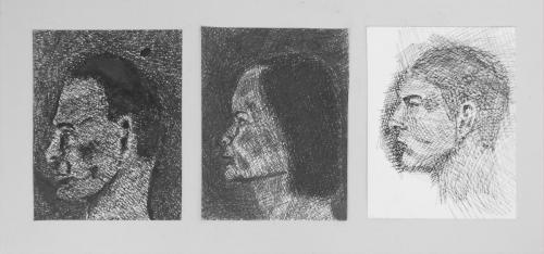 Intermediate DrawingFloor BosmanRotterdam, The Netherlands | FUA-AUFFamily portraitInk on paper31,5 x 15