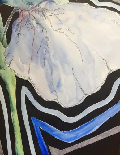 Art TherapyKylie FestenWheaton, Illinois, USA | Olivet Nazarene UniversityLove for ArtInk and watercolor on paper35 x 43,5 cm